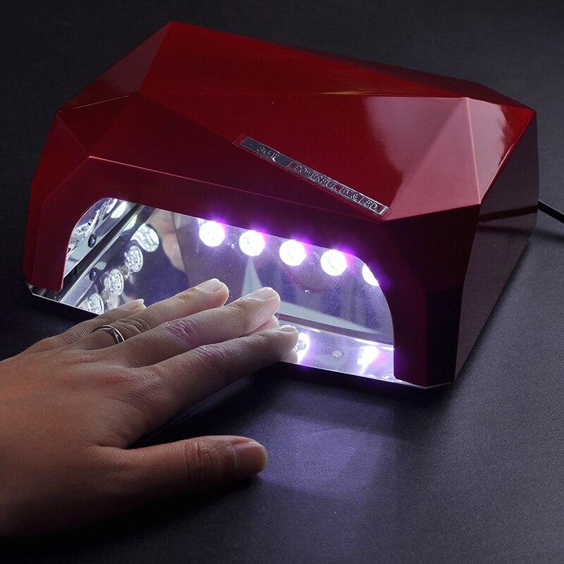 60 W Uv Led Nagel Lampe Automatische Sensor Eis Lampe Für Nagel Trockner Für Alle Gel Polish Nail Art Werkzeug Professionelle Led Lampe Für Nagel Nails Art & Werkzeuge