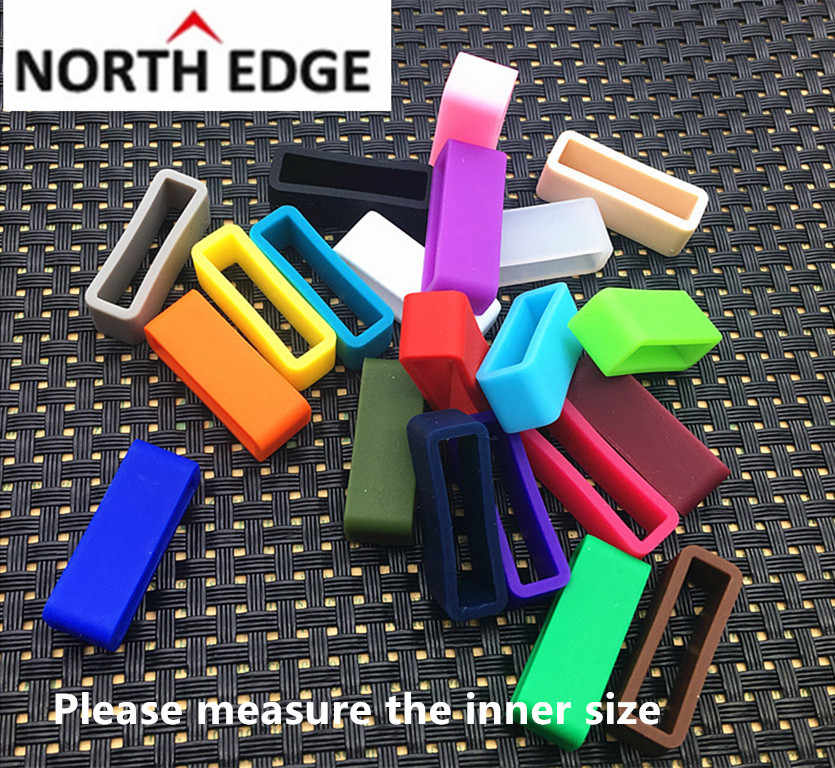 4pcs 12mm 14mm 16mm 18mm 20mm 22mm 24mm26mm New High Quality Silicone rubber Watch Band Strap Small rubber Loop Holder Locker
