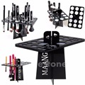 U119 Makeup Folding Collapsible Air Drying Makeup Brush Organizing Tree Rack Holder
