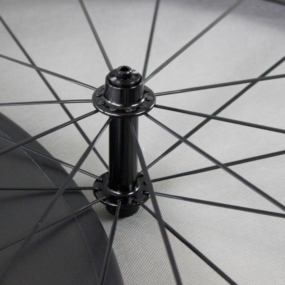ICAN Carbon Road TT Velosiped Təkər 86mm clincher tükənməmiş - Velosiped sürün - Fotoqrafiya 5