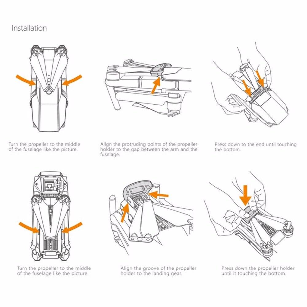 US $24 99  PGYTECH 1 Set Stick Rocker Protector Holder Extended Leg  Protector Sun Shade Holder Protection Guard fixator for DJI MAVIC PRO-in  Drone