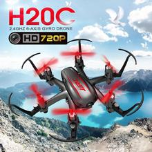 JJRC H20C RC Drone With Camera 720P RC Quadcopter 2MP Remote Control Helicopter 2.4G 4CH 6Axis Mini Drones With Camera HD Drone