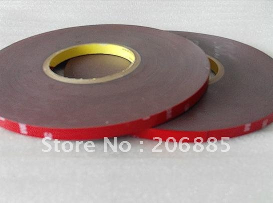 3M 4229P Auto double sided acrylic adhesive foam tape/high sticky auto foam tape/waterproof tape/resistant UV light/ 8mm*33M 3m double side adhesive tape for auto 3000cm x 0 8cm