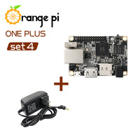Orange Pi One Plus SET4: OPI One Plus & AC to DC Power Adapter