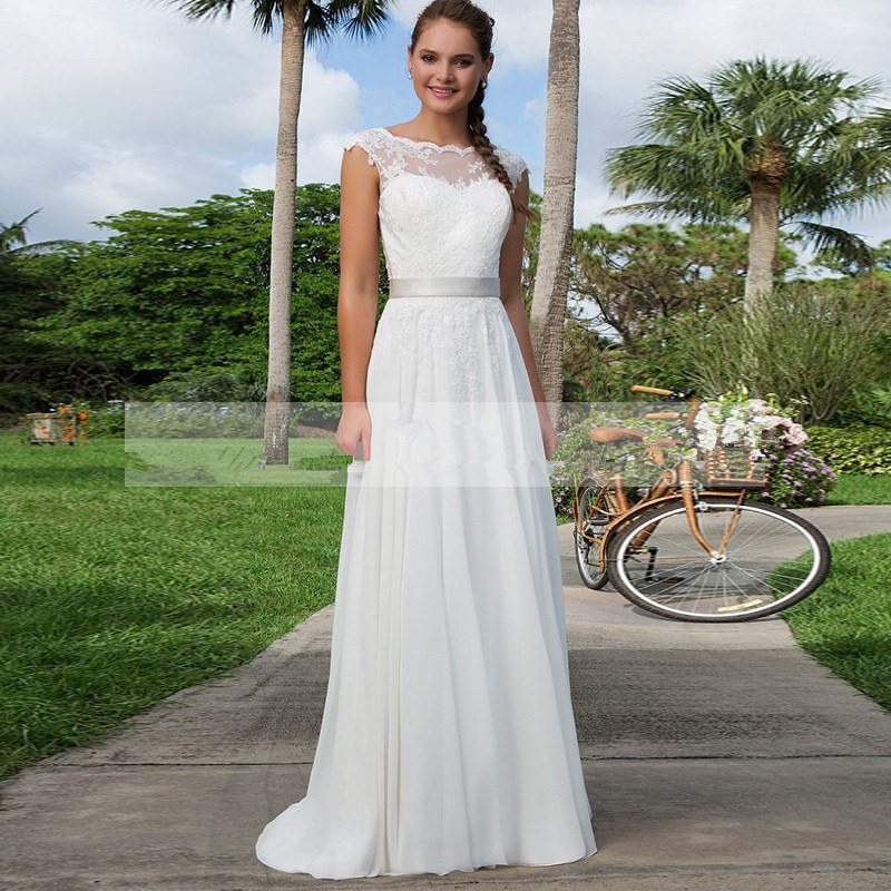 Online Buy Wholesale Satin Sheer Long Sleeve Wedding Gown From