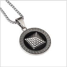 Free shipping 2016 Watch New Style Egyptian Pyramid Pendant necklace Hip Hop Fashion Jewelry Gold Necklace chain  gift Men/Women