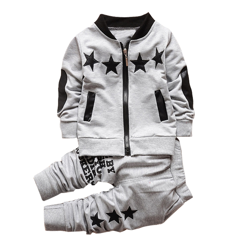 2018 Winter Autumn Baby Boys Clothes Coat+Pants Outfits Kids Clothes Sports Suit For Boys Sets Children Clothing Set 2 4 5 Years 2018 spring autumn children clothing set boys and girls sports suit 3 12 years kids tracksuit baby girls & baby boys clothes set