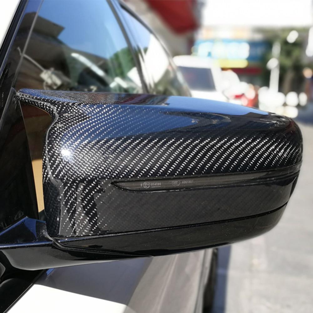 m5 estilo g30 substituicao de fibra de carbono espelho lateral capa para bmw g30 530d 540i
