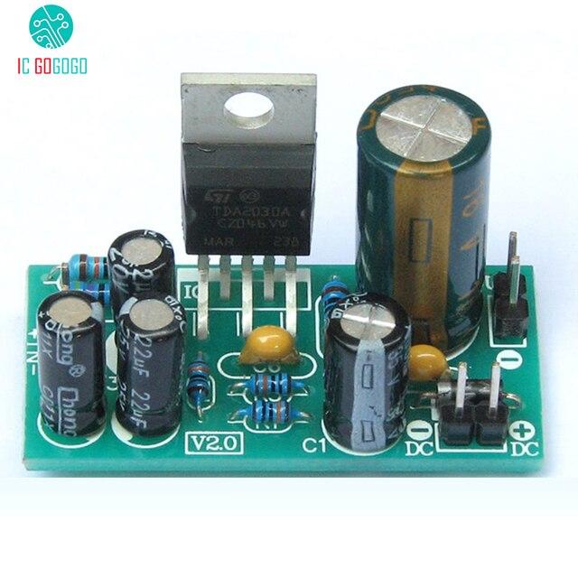 TDA2030A Mono Amplifier Board Electronic DIY Kits Audio Power ...