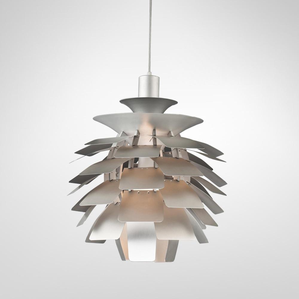 Modern Olaszországban szerződéses 38 cm-es alumínium kúp medál - Beltéri világítás