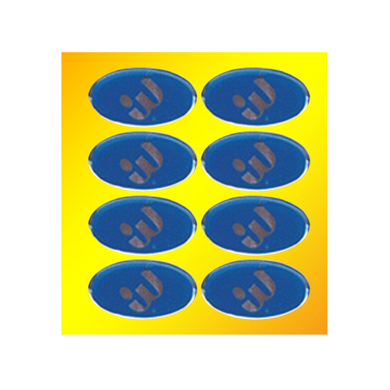 insère ou propre Logo /& Texte En métal doré médailles 50 mm rubans pack de 10