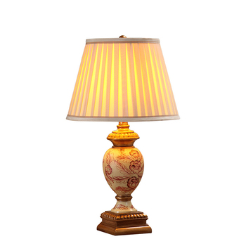 Настольная лампа кантри-раковины, прикроватная лампа для спальни, простой современный европейский стиль, оригинальное украшение для гости...