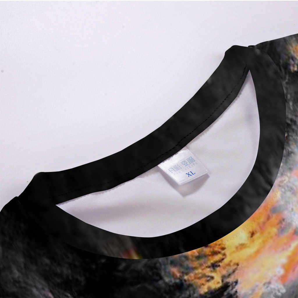Feitong Мужская футболка camiseta летняя новая 3D футболка с короткими рукавами с принтом Мужская Уличная Комфортный топ мужские s футболки Мода 2019 WW
