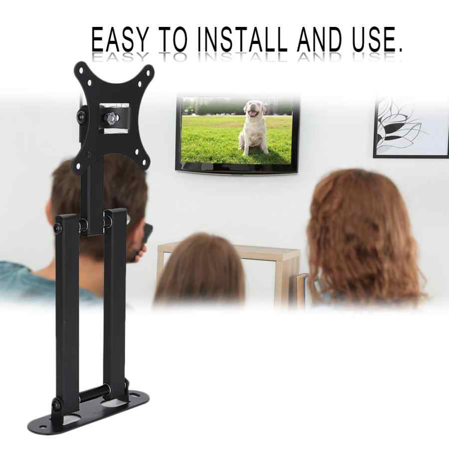 YC-TV140 10-32 cal regulowany obrót elastyczny telewizor stojak uchwyt do montażu na ścianie