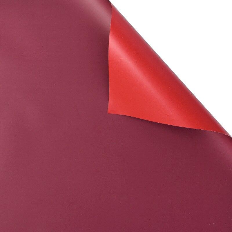 60 см* 10 м/рулон конфеты цвет цветок оберточная бумага Роза свадебная бумага для украшения на рождество упаковка букета материал - Color: K