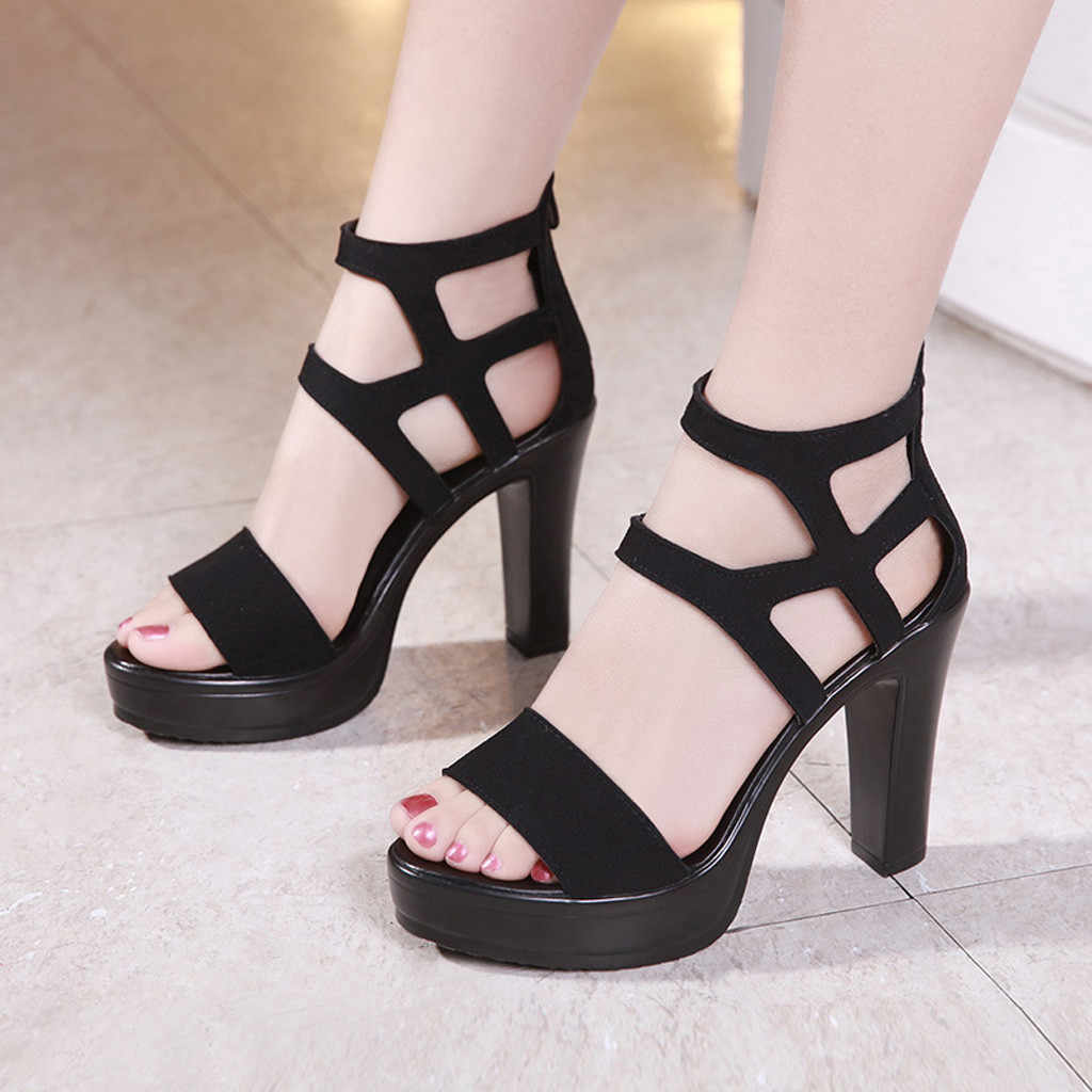 1pair Summer Flat Sandals Fish Mouth Open Toe Style Shoes For Women