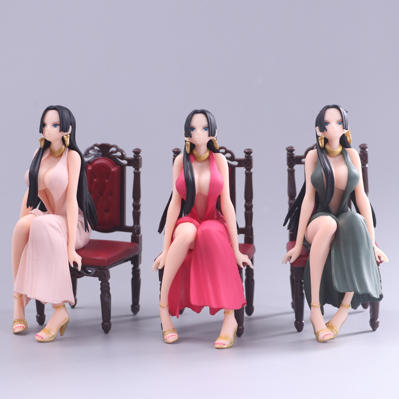 Anime One Piece CREATOR <font><b>X</b></font> CREATOR Boa Hancock Sitting Ver. <font><b>Sexy</b></font> PVC Action Figures Collectible Model Toys Doll 12cm <font><b>3</b></font> Colors image