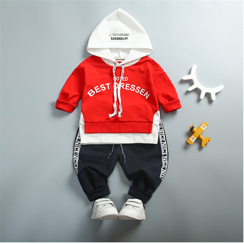 Kid Toddler Sports Suit Baby Girl Boy Set Clothing Fashion Letter Cute Clothing set Spring autumn Boys Girls Clothes 1 2 3 4Year eaboutique new winter boys clothes sports suit fashion letter print cotton baby boy clothing set kids tracksuit