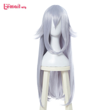 L email wig Booette Cosplay Wigs Boosette 80cm Long Straight Cosplay Wig Heat Resistant Synthetic Hair Perucas