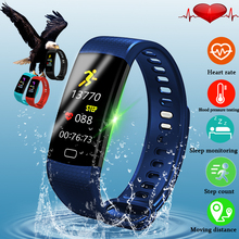 LIGR Men Fitness Smart bracelet Smartwatch Heart rate Blood Pressure Oxygen Oximeter Sport Watch intelligent For iOS Android