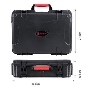 Image 5 - Smatree Portable Hard Carrying Case for DJI Mavic Air/Batteries/Battery charger/Propeller Guard,Waterproof Drone Bag