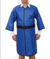 0.35 MMPB 2 sides X ray protection long sleeves clothing,front and rear body protective suit.Clinic work clothes.