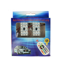 Colorful Reading Lights 15SMD 5050 T10 BA9S Light Board Atmosphere Light Car Lights RGB Auto Remote