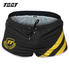 TQQT Short Male Striped Boxer Shorts Patchwork Beach Board
