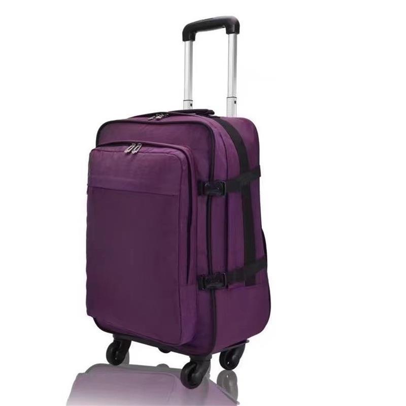 20222426inch Frabic trip fashion wheels malas de viagem com rodinhas trolley valiz suitcase maletas koffer carry on luggage