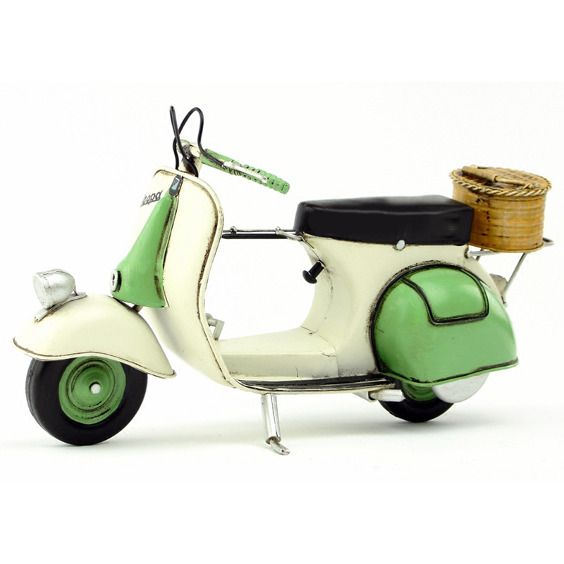 2e1a22e692e Vespa model Car 1955 Italy vintage metal toy Green motorcycle toys hot  wheel 1 12 safe Cool Diecast Metal vespa motor collection-in Diecasts   Toy  Vehicles ...