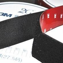 """2"""" (50mm) width Self Adhesive hook and loop Tape with 3m glue.3m backing hook & loop"""