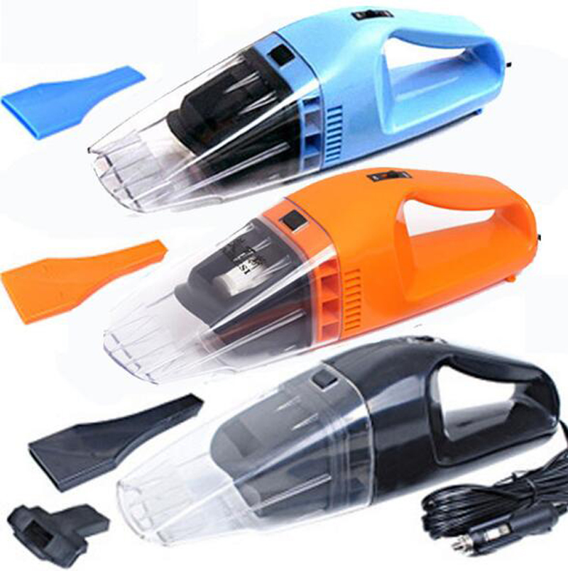 Upgrade section 100W car vacuum cleaners Car high-power wet and dry 4.5-meter wire
