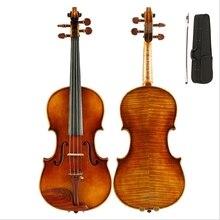 Violin Maple 4/4 Violino Handmade Ebony Picea Asperata Musical Instrument More than 18 years of natural dry wood 630