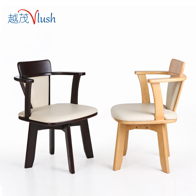 the more creative mao wood dining chair hotel chair backrest
