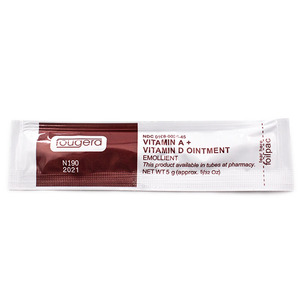 Image 4 - 100PCS Vitamin A&D Ointment After Cream For Tattoos Care Skin Repair VA VD Vitamin Body Art Healing Skin Permanent Makeup Tools