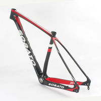 Cheap China Brand MTB Bike Carbon Frame Toray T800 Carbon Frames