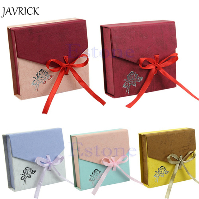 jewelry box New Square Package Bracelet Bangle Jewelry Bowknot
