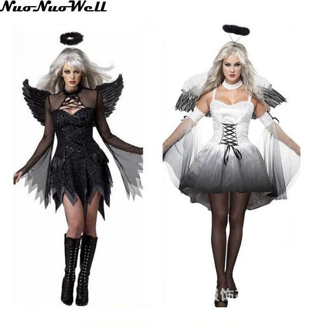 Seni Esposti Sexy Halloween Costume Femminile Cosplay Ragazze Costumi Sexy  Per Adulti Fantasia Favola Angolo Angolo e0eee2a22ee