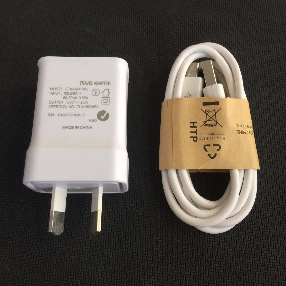 Original quality 5V 2A AU Plug Wall Charger + Micro USB Cable For Samsung Galaxy S6 S6 Edge S4 S3 for HTC M8 M9 for LG G2 G3 G4