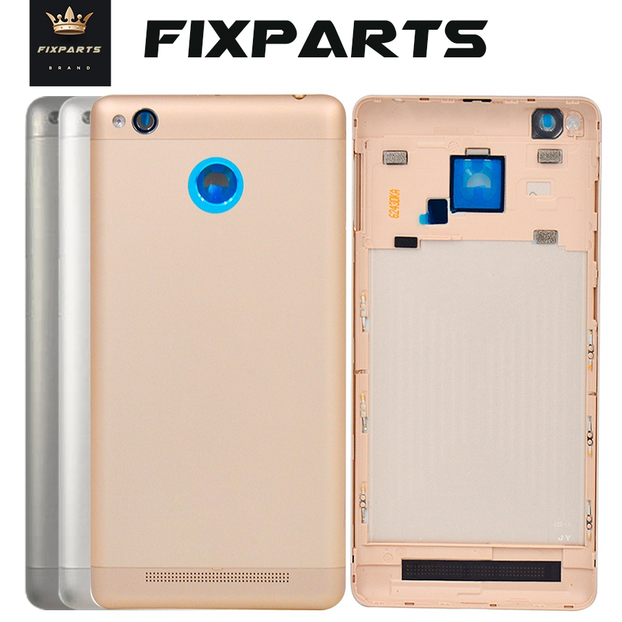 New Metal Back <font><b>Cover</b></font> for <font><b>Redmi</b></font> <font><b>3S</b></font> <font><b>Battery</b></font> Door Case Housing with logo for Xiaomi redmi3S <font><b>redmi</b></font> <font><b>3S</b></font> <font><b>redmi</b></font> 3 pro 3pro <font><b>Battery</b></font> <font><b>Cover</b></font> image
