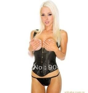 Sex product Sexy Lingerie Black Corset Bustier/Mini Babaka Sexy lingerie Free shipping!!