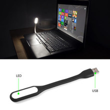 High Brightness Mini Flexible Bright USB LED Light Portable Lamp for Computer Keyboard Reading Laptop PC Notebook(China)