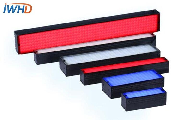 Lumière de bande 102*18mm Machine Vision lumière LED éclairage spécial Source de lumière industrielle lumière rouge et blanche 5 W puissance DC24V