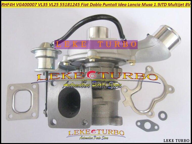Turbo RHF4H VL35 VG400007 VL35 55223928 71793619 Turbocharger For FIAT Doblo Punto 2 Idea Lancia Musa 03-07 Multijet 8V 1.9L JTD fiat sedici 1 9 multijet
