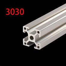 3D Printer Parts 3030 Aluminum Profile European Standard Anodized Linear Rail Aluminum Profile Extrusion 3030 Extrusion 3030 cheap Corner Brackets Metalworking piece 0 75kg (1 65lb ) 1cm x 1cm x 1cm (0 39in x 0 39in x 0 39in)