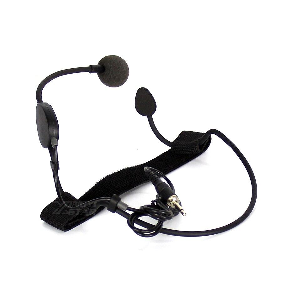 Профессиональный конденсаторный микрофон с головным убором, гарнитура с микрофоном, 3,5 мм, мужской винтовой разъем, микрофон для караоке, беспроводная система, передатчик