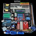 Starter Kit para arduino Uno R3-Uno R3 Breadboard y soporte Del Motor de Paso/Servo/1602 LCD/puente de Alambre/UNO R3