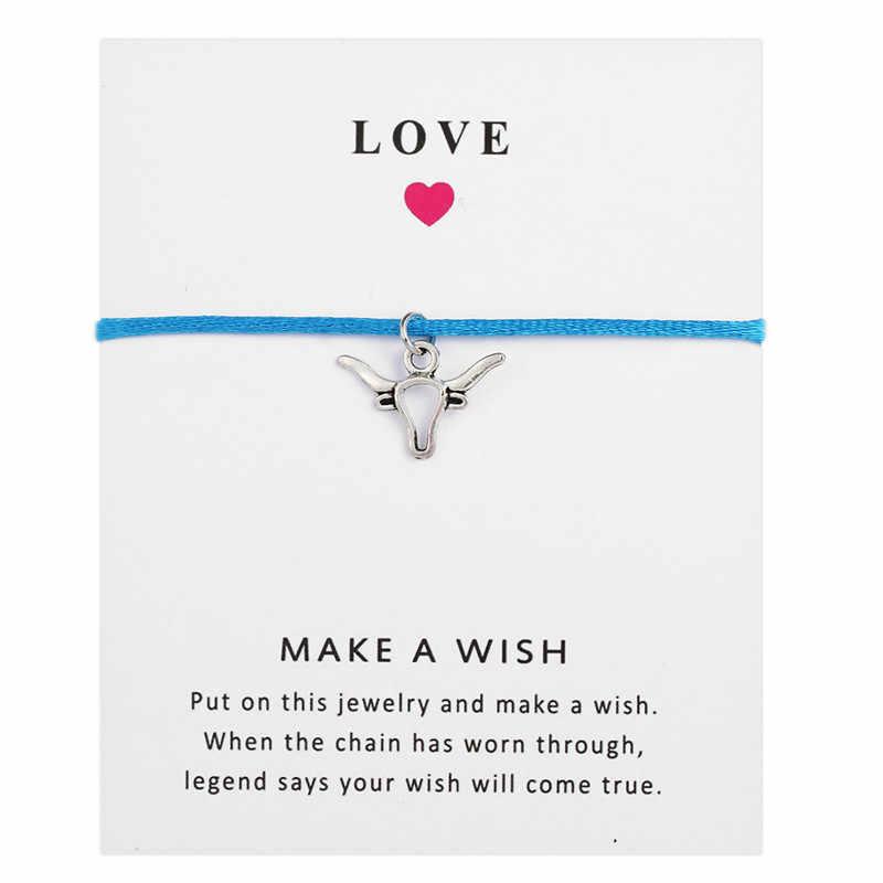 Серебро с надписью «I Love його, браслеты с брелоками для Для женщин Для мужчин осознание аутизма подарок желание валентинка регулируемый браслет дружбы мама ювелирные изделия