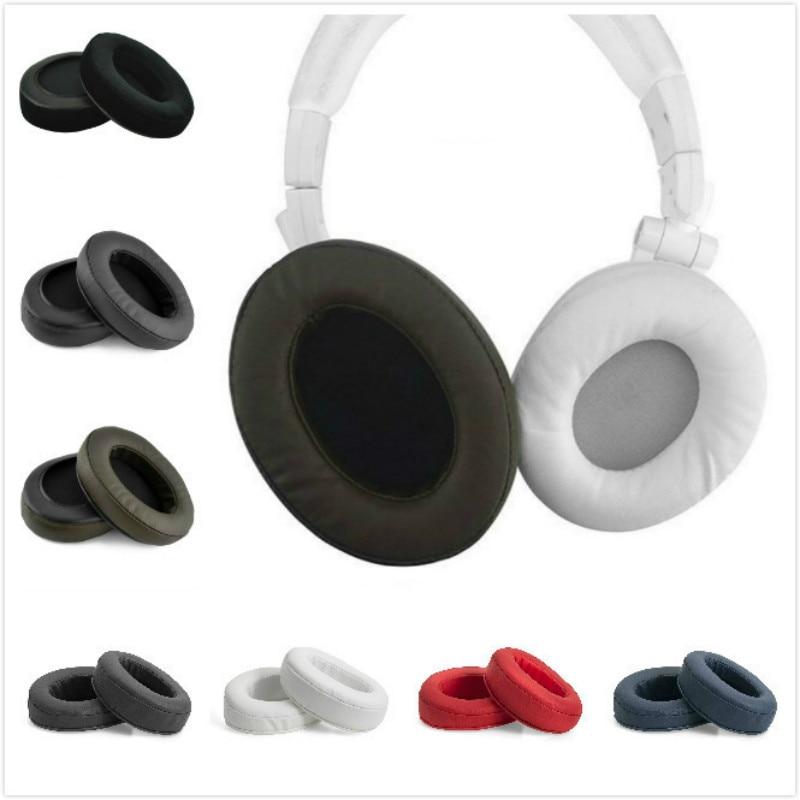 Replacement Ear Pad Ear Cushion Ear Cups Ear Cover Earpads for ATH M50 M50S M50X M30 M40 M35 M20 SX1 40X MSR7 headphones jbl e50bt e50 bt synchros headphones replacement ear pad ear cushion ear cups ear cover earpads
