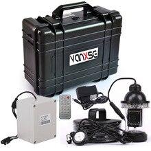 Vanxse 7Inch TFT LCD 1/3 Sony CCD 1000TVL 18Pcs white LEDs Underwater fishing camera 360degree Fish Finder camera System 50M